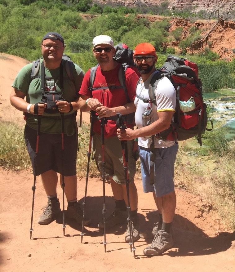 Jim Burhorn at the Grand Canyon
